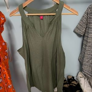 NWT Vince Camuto Army Green Tank